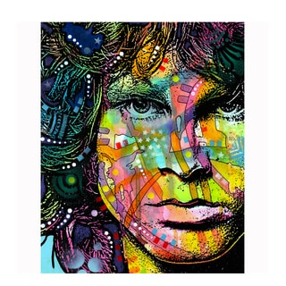 Colorful Jim Morrison Art By Dean Russo Pressed On Metal Wall Decor