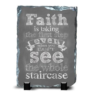 Faith Slate Staircase Wall Decor