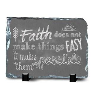 Faith Slate Possible Wall Decor