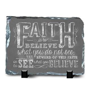Faith Slate Faith 2 Wall Decor
