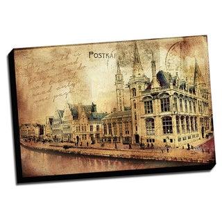 Belgium Captured On Canvas Print