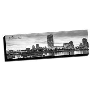 Milwaukee Wrapped Framed Canvas