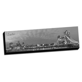 London Wrapped Framed Canvas