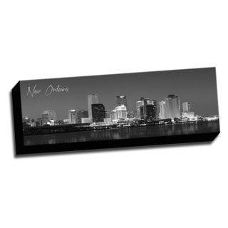 New Orleans Wrapped Framed Canvas