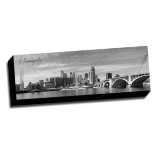 Minneapolis Wrapped Framed Canvas