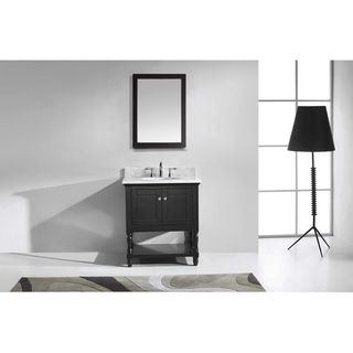 Virtu USA Julianna  32-inch Single Bathroom Vanity Set with Faucet