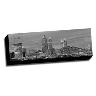 Cleveland Wrapped Framed Canvas