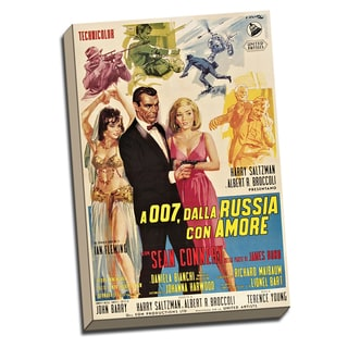 James Bond From Russia with Love Vintage Movie Poster Wall Decor