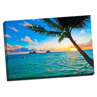 Tropical Places Collection Sunrise Wall Decor