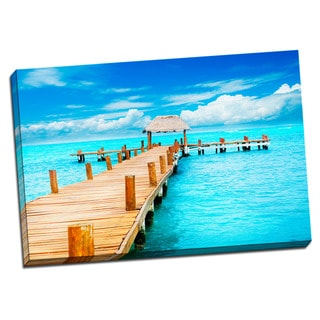 Tropical Places Collection Pier Wall Decor