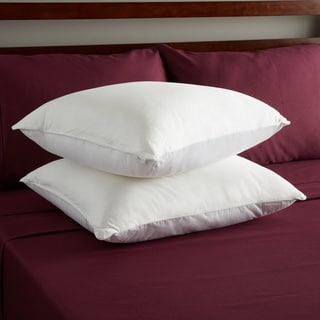 Sealy Posturepedic Nano Cool Double-knit Low-profile Standard Pillows (Pack of 6)