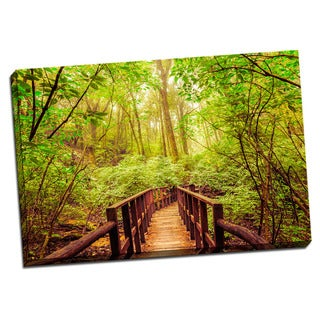 Tropical Places Collection Bridge Wall Decor