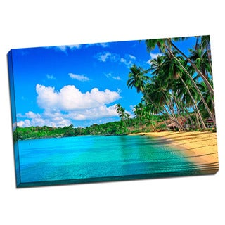 Tropical Places Collection Blue Water Wall Decor
