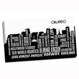 Orlando Wrapped Framed Canvas
