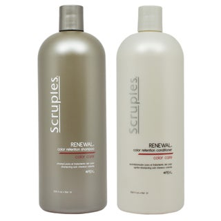 Scruples Renewal 33.8-ounce Color Retention Shampoo and Conditioner
