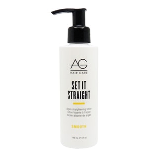 AG Smooth Set it Straight 5-ounce Argan Lotion