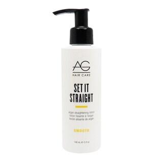 AG Smooth Set it Straight 5-ounce Argan Lotion