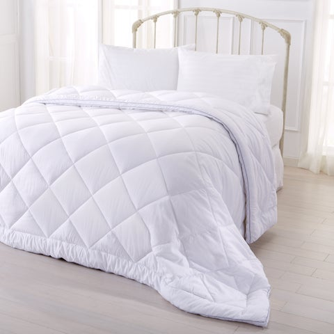 Home Fashion Designs Hayden Collection Seersucker Down Alternative Comforter