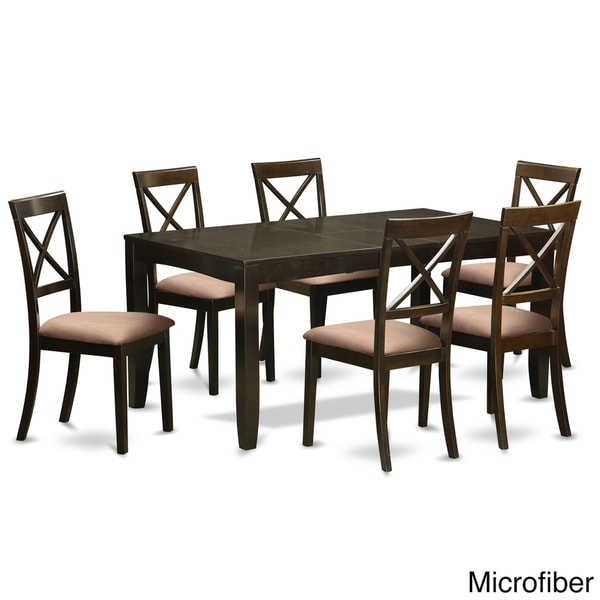 LYBO7 CAP 7 Piece Kitchen Dining Table Set   Free Shipping Today    Overstock.com   18876710
