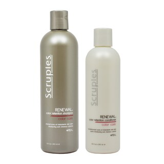 Scruples Renewal 12-ounce Color Retention Shampoo and 8.5-ounce Conditioner