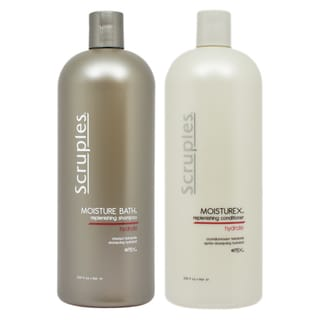 Scruples 33.8-ounce Moisture Bath Shampoo and Moisturex Conditioner