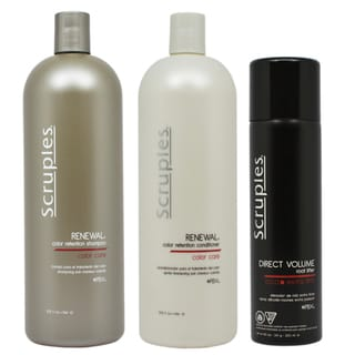 Scruples Renewal 33.8-ounce Color Retention Shampoo and Conditioner with Direct Volume Root Lifter