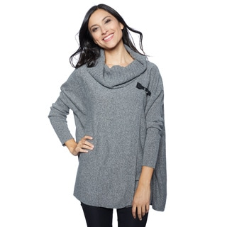 Ply Cashmere Women's Jersey Pull-over Turtleneck