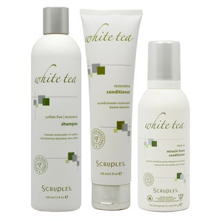 Scruples White Tea Sulfate-free 12-ounce Restorative Shampoo and Conditioner