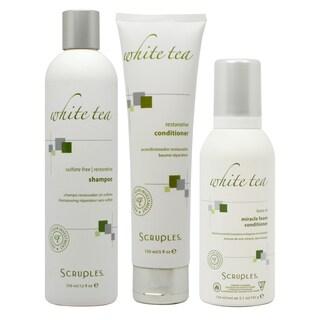 Scruples White Tea Sulfate-free 12-ounce Restorative Shampoo and Conditioner