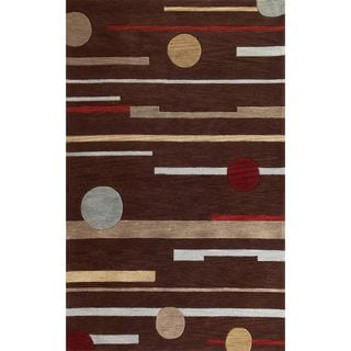 Milan 2117 Brown Horizons Rug