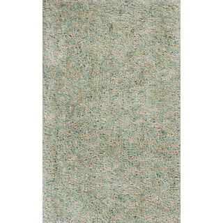 KAS Urban 1412 Sage Heather/Multicolor Polyester Round Rug (6')