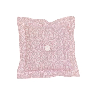 Cotton Tale Girly Pink Skin Decor Throw Pillow