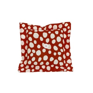 Cotton Tale Red Dot Decor Throw Pillow