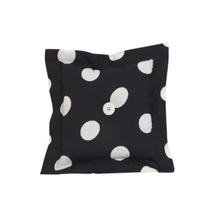 Cotton Tale Big Black Dot Throw Pillow