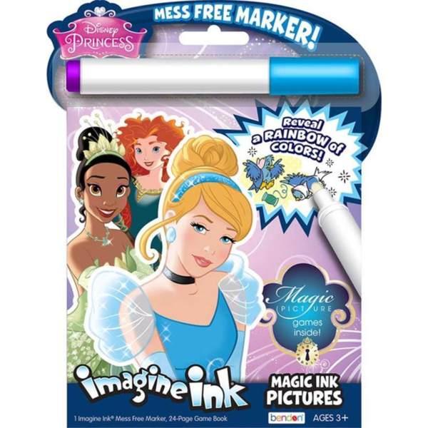 Bendon Disney Princess Multi-color Plastic Cinderella Magic Ink Pictures