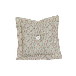 Cotton Tale Tea Party Small Floral Throw Pillow