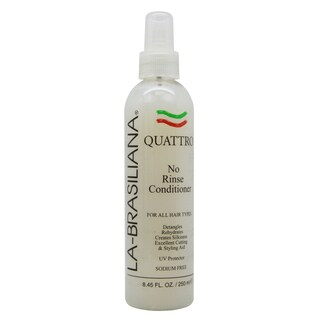 La-Brasiliana QUATTRO 8.45-ounce No Rinse Conditioner