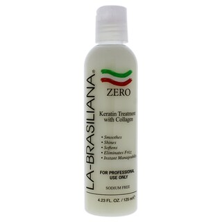 La Brasiliana ZERO 4.23-ounce Keratin Treatment with Collagen