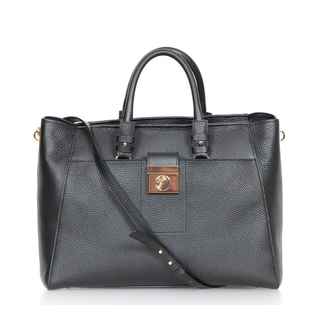 Versace Collection Leather Tote