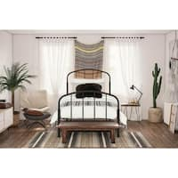 The Gray Barn Latigo Bronze-finished Metal Bed