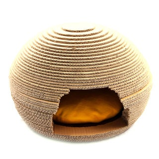 Purrrfect Life Nest-shape Cat Scratcher House