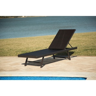 Hanover Outdoor Orleans Woven Chaise Lounge Chair