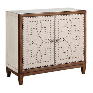 Sutton Parchment Accent Cabinet