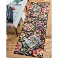 Unique Loom Tuscany Barcelona Runner Rug - 2' 7 x 10'