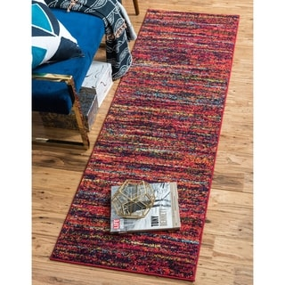 Barcelona Multi/Blue Runner Rug ( \2'7 x 10')