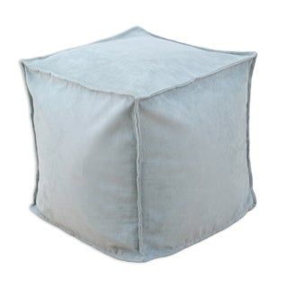 Victory Lane Surf 12.5-inch Square Seamed Footstool