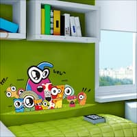 HomeSource 'Eyes of Friends' Removable Wall Graphic