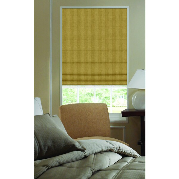 Ashton Nugget Stripe Roman Shade 42 to 42.5-inch Wide