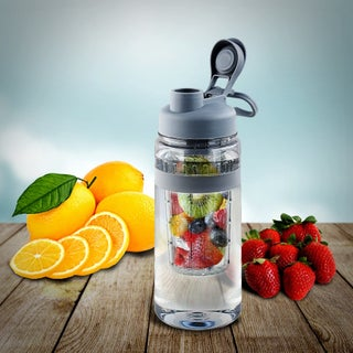 Fruit Infuser Tritan Plastic 32-ounce Water Bottle (2 options available)