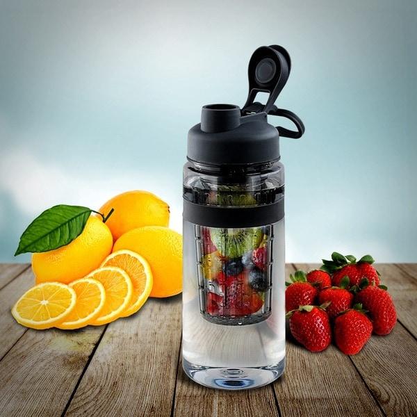 Tritan 32-ounce Fruit Infuser Water Bottle